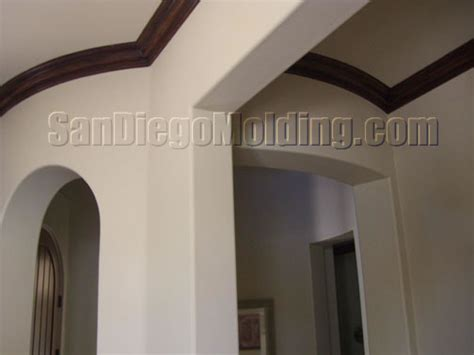 faux crown molding with paint crown molding 410m faux wood painted crown molding
