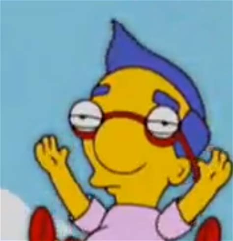 Milhouse Meme - milhouse is unamused quot milhouse is not a meme quot know