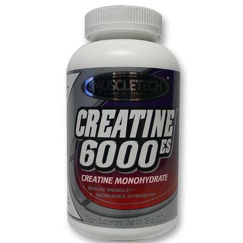 creatine vitamins muscletech creatine 6000 es 18 oz 510 g evitamins