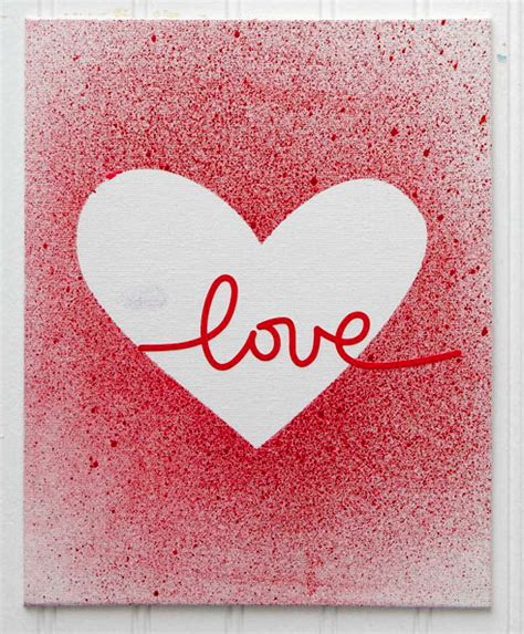 make a valentines day card make your own splatter paint s day cards diy