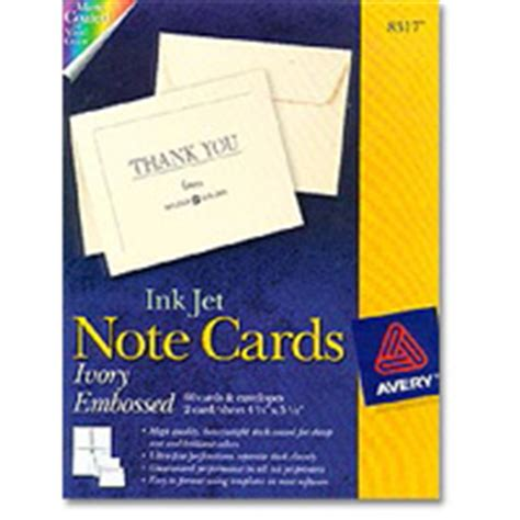 avery 8317 note cards template avery specially yours greeting card inkjet papers