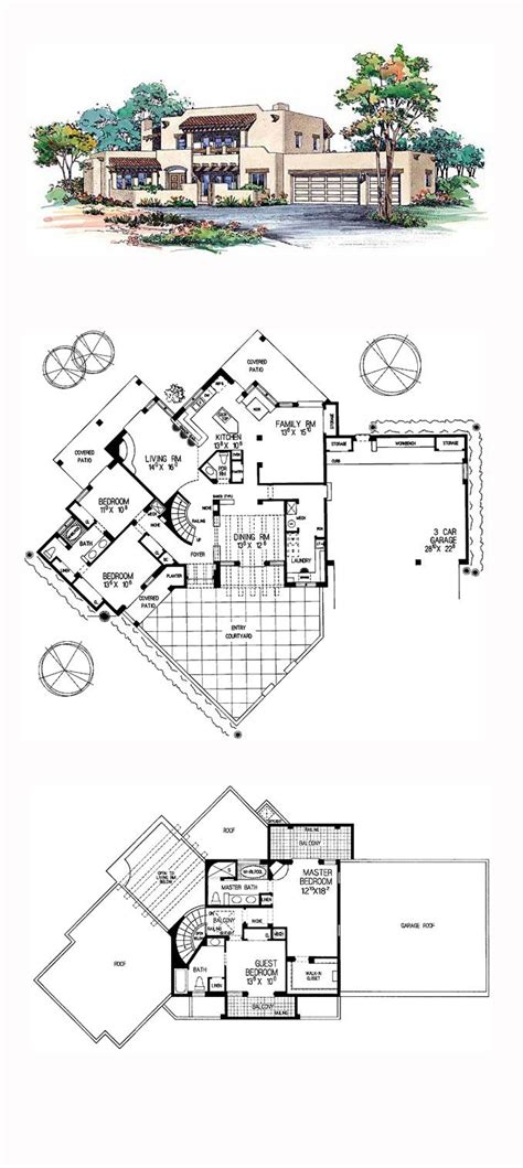Santa Fe House Plans by 17 Best Images About Santa Fe House Plans On