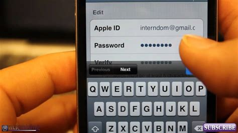 Search Apple Id By Email Ios 6 Ios 5 Features Tips How To Change Your Apple Id On Iphone 5 4s