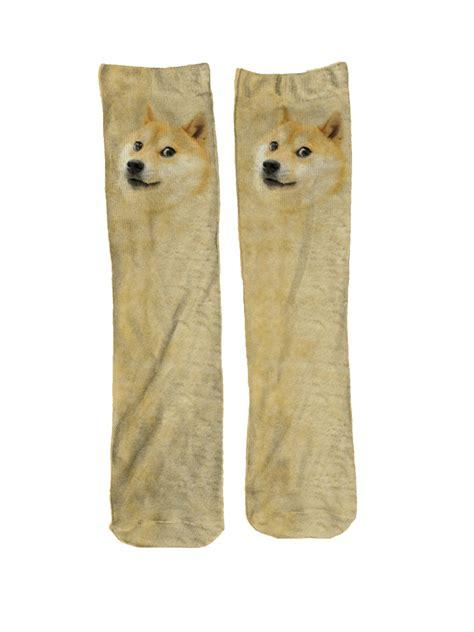 Doge Meme Gifts - doge meme socks cool meme gift meme socks gift fun socks