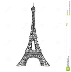 eiffel tower illustration stock images image 14477554