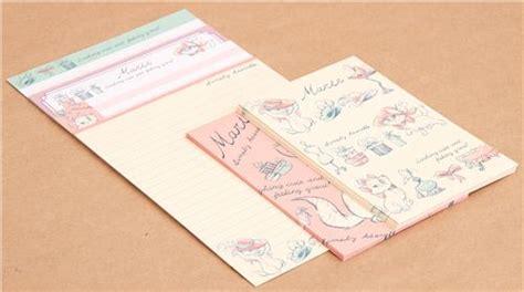 Set Ami Cat set de papier 224 lettres avec le chat des aristochats