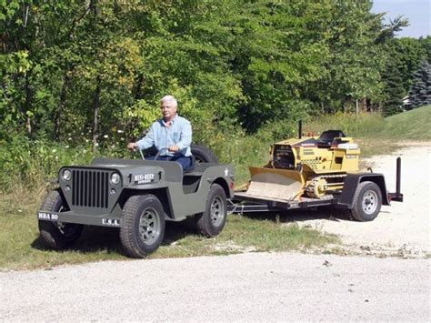 Mini Jeep Build Earthwork Equipment Overview Of Industries Machineinfo Nl