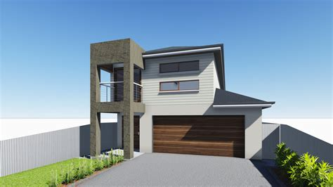 modern two storey house with streamline roof modern two storey house with streamline roof modern two