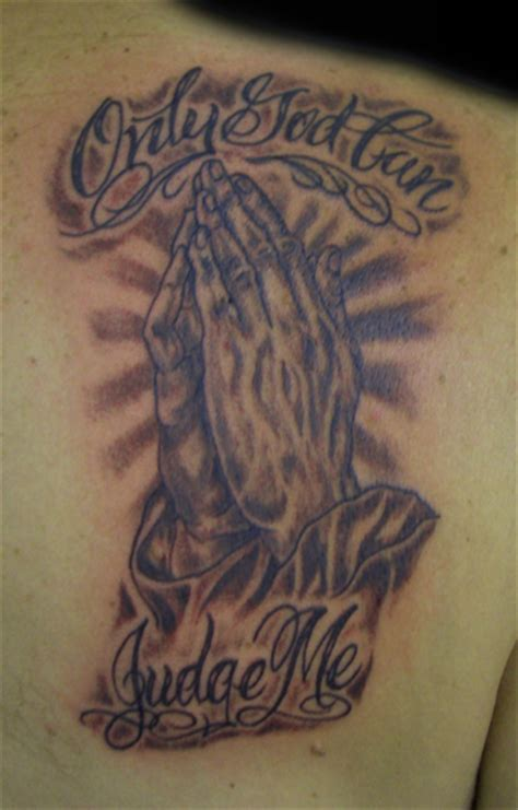 god hands tattoo only god picture