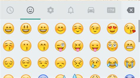 android emojis whatsapp android update with new emojis coming soon in india the indian express