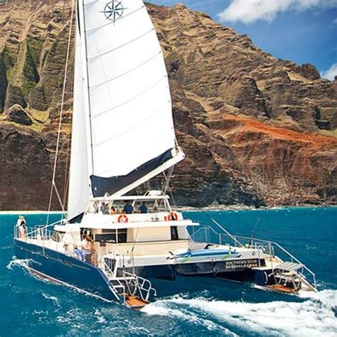 sunset grill boat tours napali snorkel bbq 6 hour southern star kauai