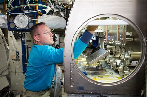 Nasa Bed Experiment by A Lab Aloft International Space Station Research