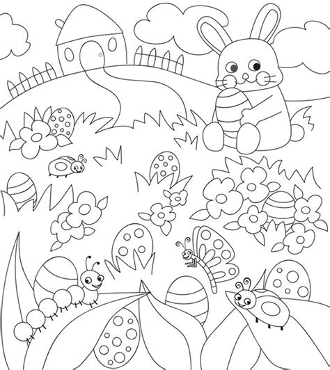 easter coloring pages for grade 17 best images about easter on tissue paper