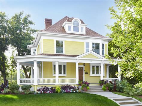 home design yellow curb appeal ideas from minneapolis minnesota hgtv