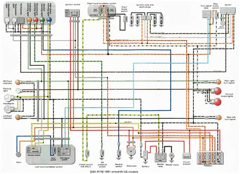 gsxr  wiring diagrams  service manual