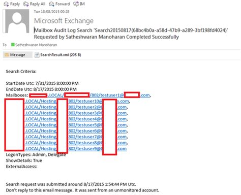 Office 365 Mailbox Auditing How To Run A Non Owner Mailbox Access Report In Exchange