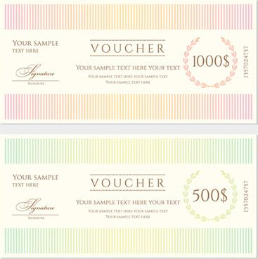 gift card cdr template gift voucher template vector free vector 14 935