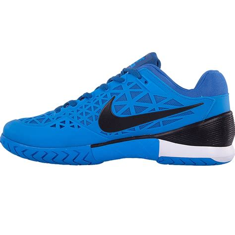 Nike 2016 S Zoom Cage 2 Tennis Shoes Black White 705247 010 nike zoom cage 2 cage s tennis shoe blue black