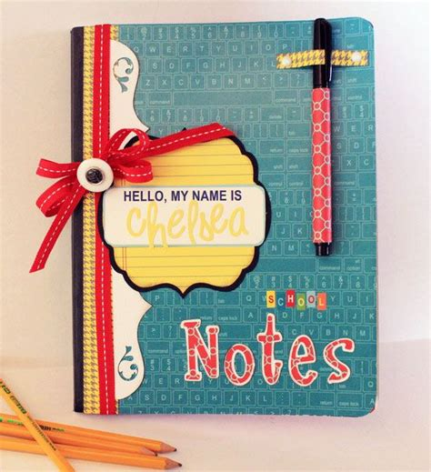 notebook decoration ideas decorated notebooks ideas decoratingspecial