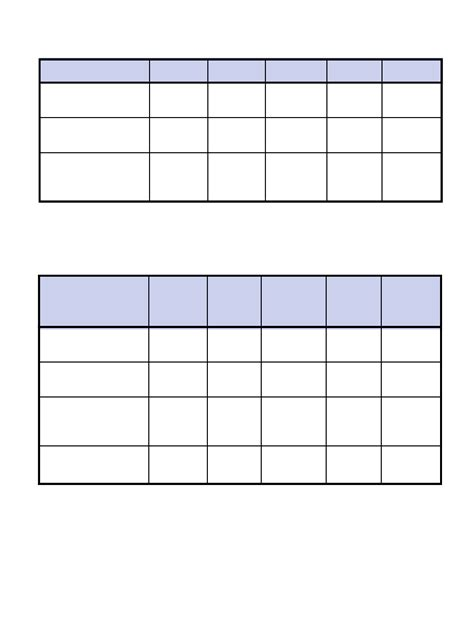template of menu planning and sle menus free download
