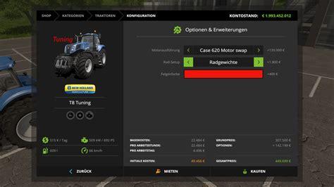 t8 u ls newholland t8 tuning v 1 2 for ls 17 farming simulator