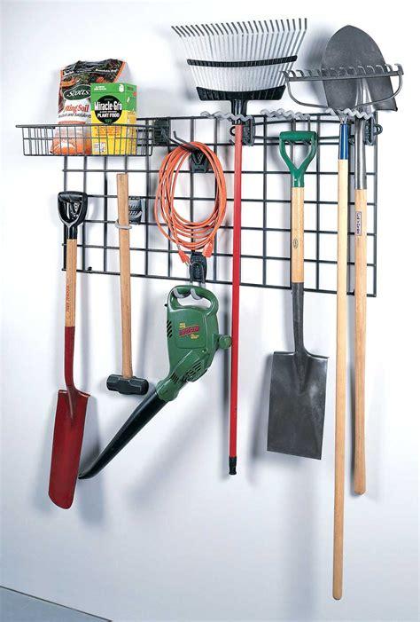 garage organization racks garage grid storage rack kit 2 set of 7 in garage grid