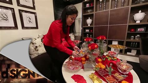 cny home decor dsign how to decorate living room for chinese new year