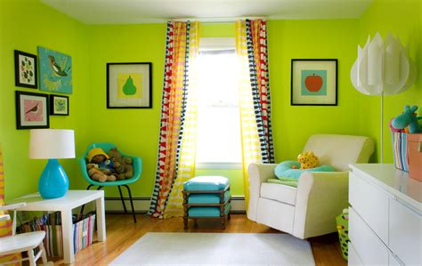 Best Color Curtains For Green Walls Decorating Green Room Interior Design Wallpapers