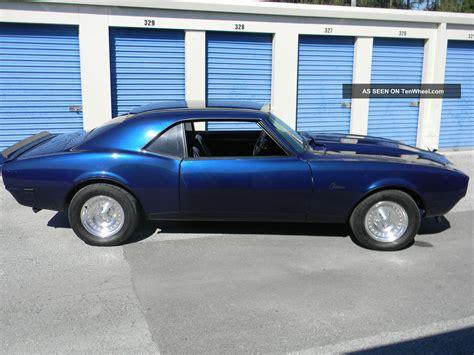 camaro big 1968 camaro big block