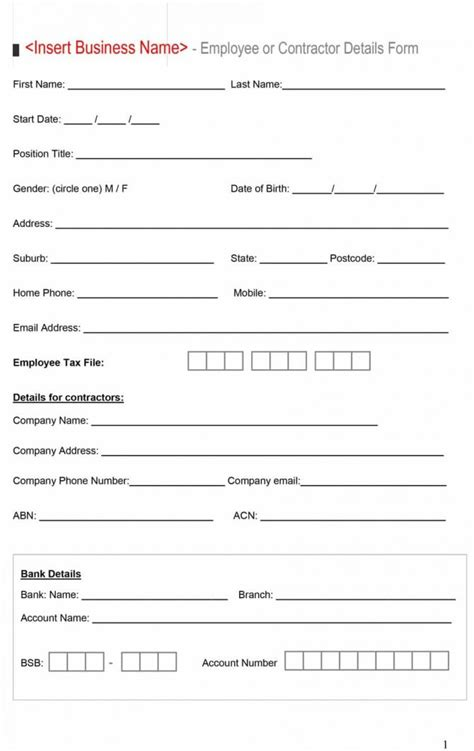 Change Of Banking Details Letter Template