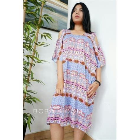 Dress Batik Handmade bali batik printing fabric dress handmade