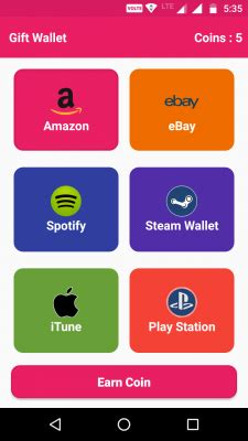 Free Android Gift Card - gift wallet free gift cards free android app android freeware