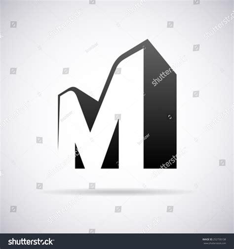 letter m layout vector logo letter m design template stock vector