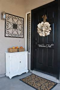 Front Door Decorating Ideas 50 Fall Front Door D 233 Cor Ideas Family Net Guide To Family Holidays On The