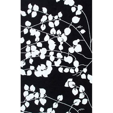 Pomona Black White 8x10 Sku Rugm 25244e Machine Black And White Outdoor Rug