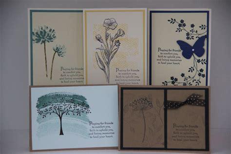 Handmade Religious Cards - 5 religious sympathy cards handmade sympathy card by