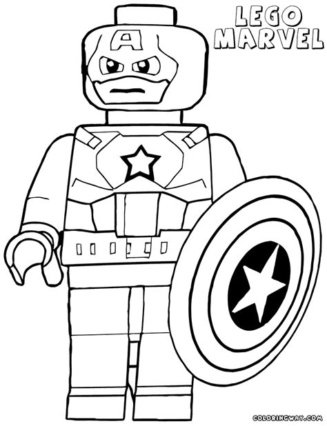 Lego Superhero Coloring Pages Coloring Home Lego Colouring Pages For