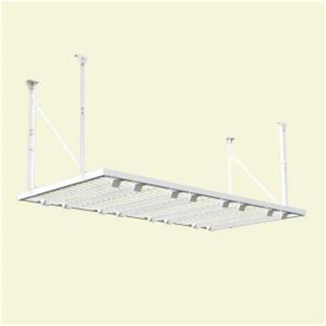 Home Depot Garage Ceiling Storage by Hyloft 96 In W X 48 In D Adjustable Height Garage