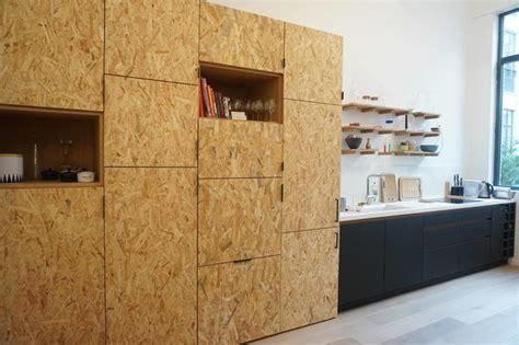 osb kitchen cabinets cuisine en panneaux fenix et osb moderno cocina