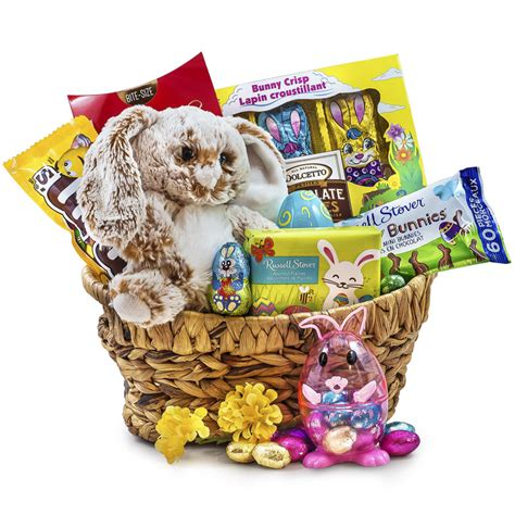 easter chocolate gifts easter bunny eggstravaganza chocolate gift basket