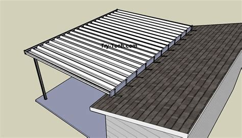 Adding Shed Roof Deck - mirrasheds how to build a shed roof an existing deck