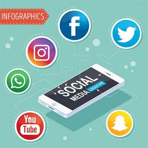 imagenes de simbolos sociales infografia redes sociales fotos y vectores gratis