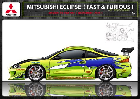 mitsubishi eclipse drawing mitsubishi eclipse fast and furious drawing pixshark