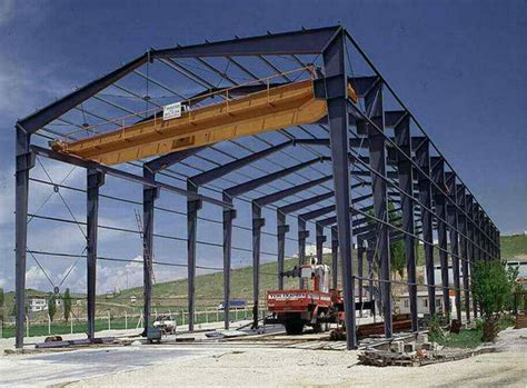 Structural Steel Prefabricated Sheds / Factory Types
