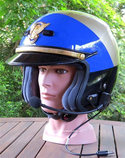 Helm Retro Chips california highway patrol motorcycle helmets and helmets on