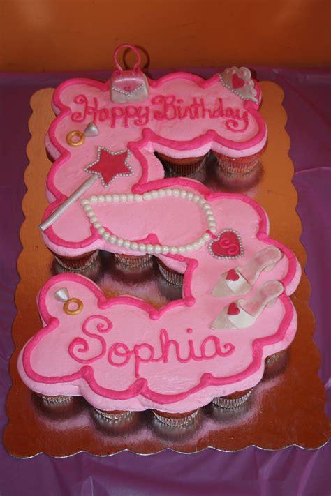 princess  birthday cupcake cake cakecentralcom