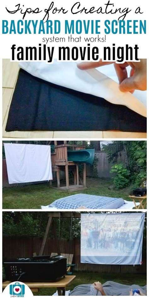how to make a backyard movie theater secret tips for creating an awesome diy backyard movie