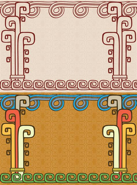 imagenes de fondos aztecas fondo azteca foto de archivo imagen 34628710