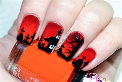 halloween nail art tutorial youtube halloween nail art tutorial diy halloween nails youtube