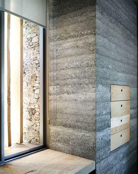 interior concrete walls armando ruinelli redevelopment of a barn soglio smooth